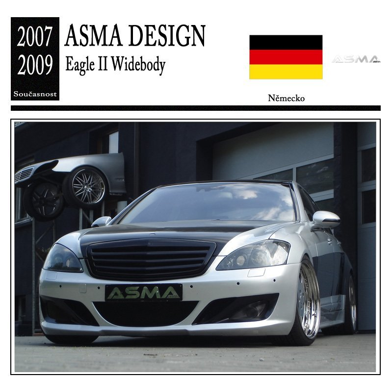 Asma Design Eagle II Widebody