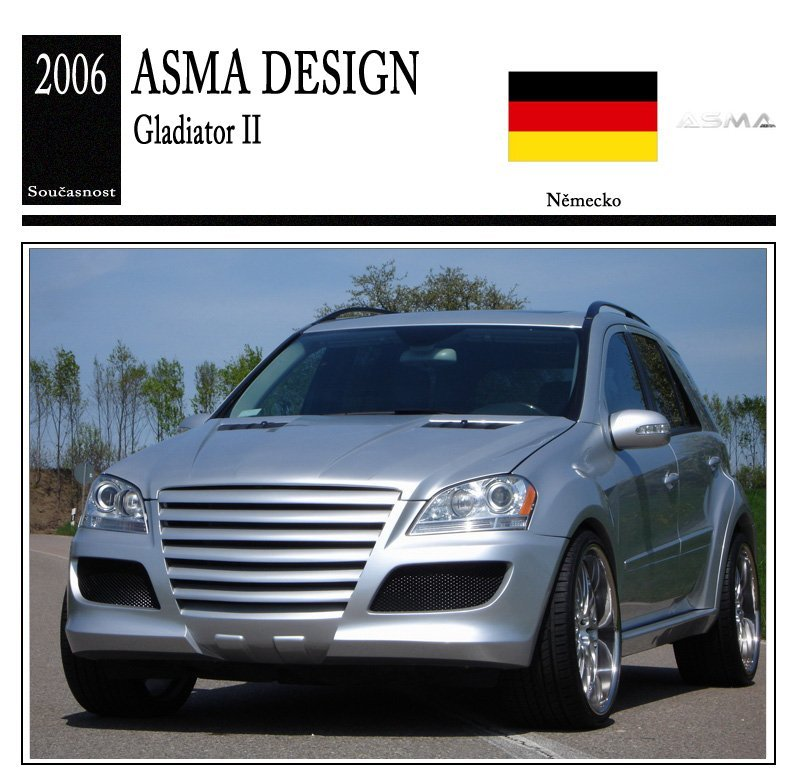 Asma Design Gladiator II