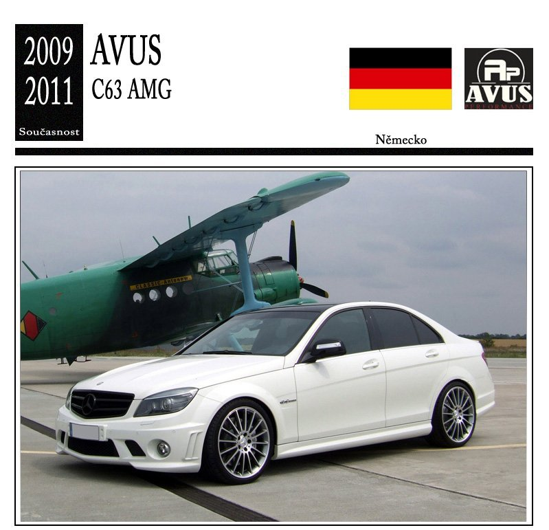 Avus Performance C63 AMG