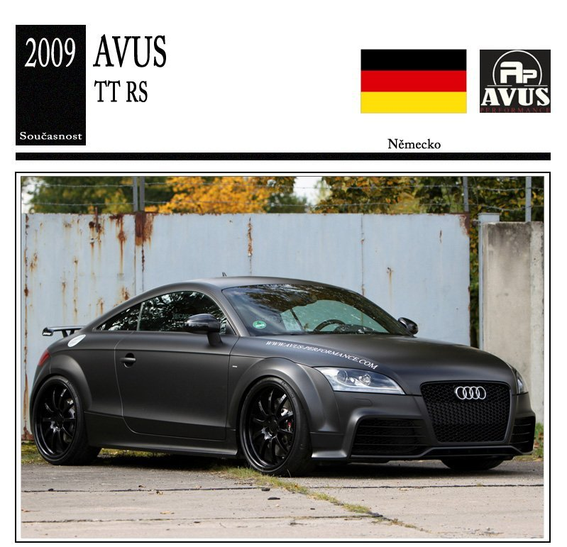 Avus Performance TT RS