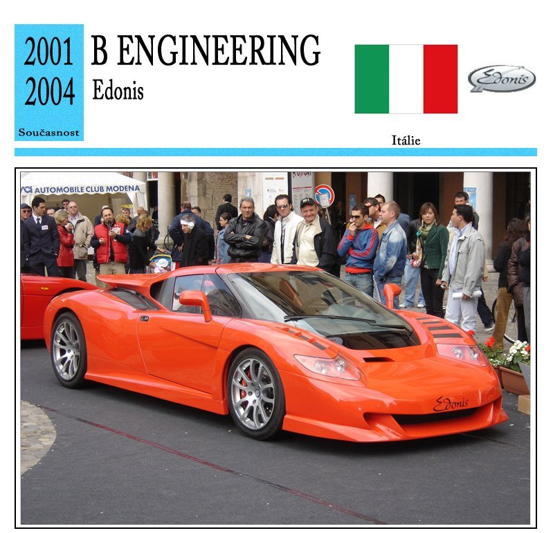 B Engineering Edonis