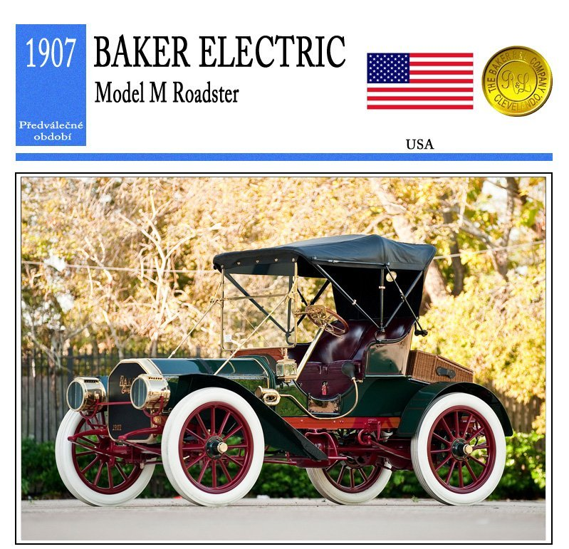 Baker Electric Model M Roadster