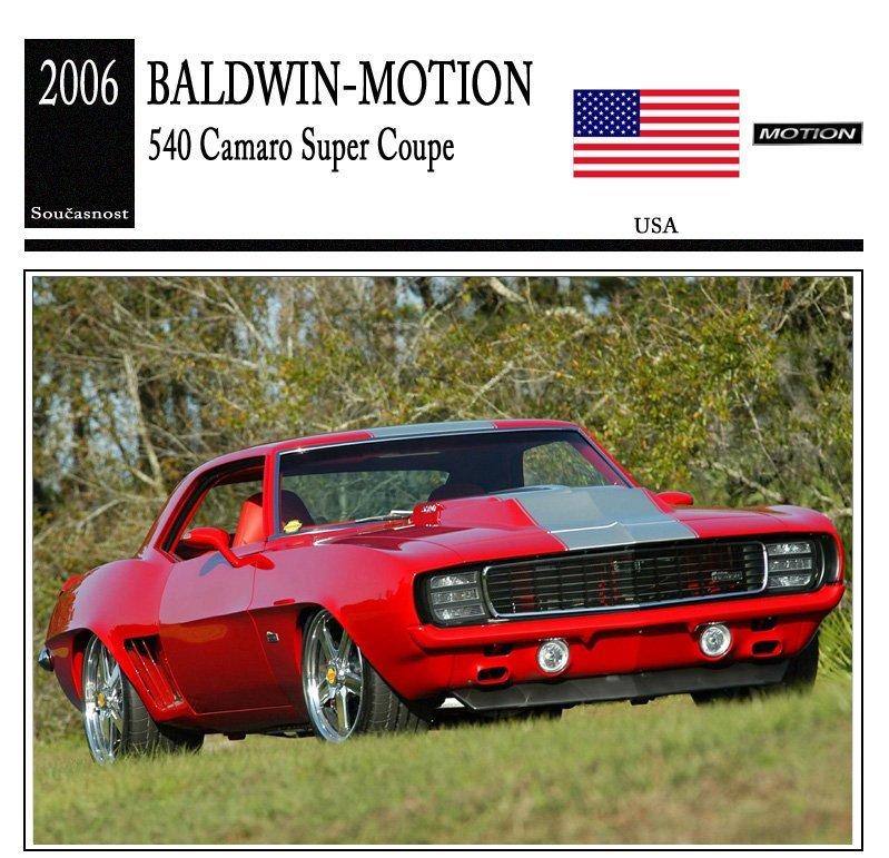 Baldwin-Motion 540 Camaro Super Coupe