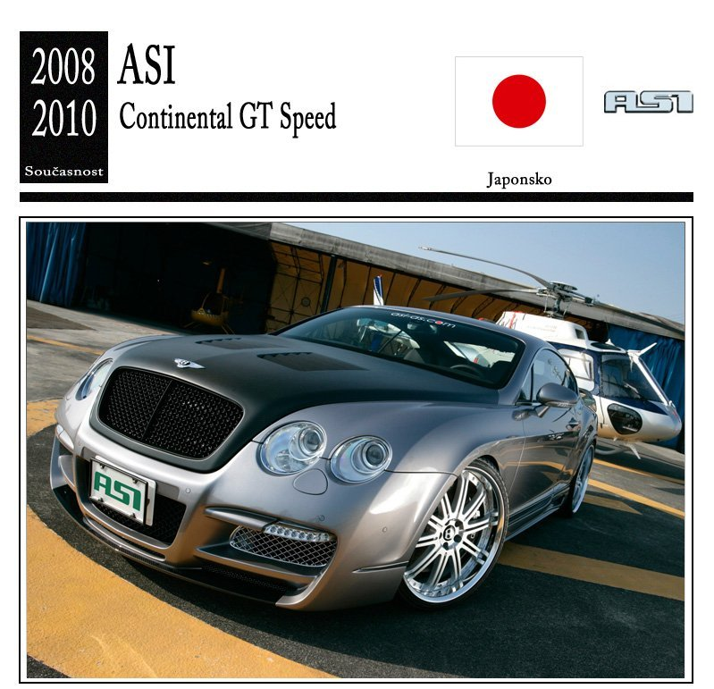 ASI Continental GT Speed