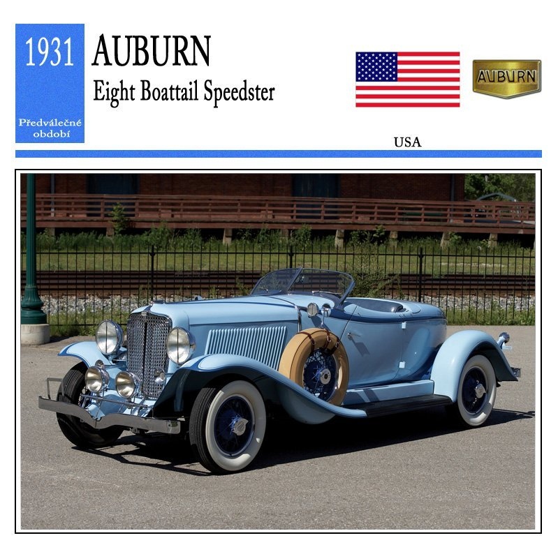 Auburn Eight Boattail Speedster