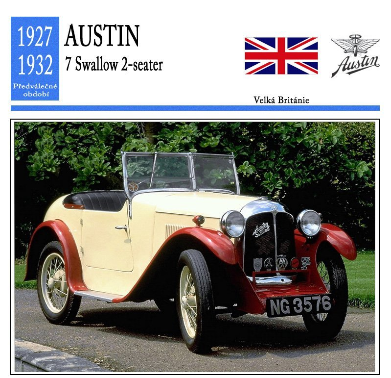 Austin 7 Swallow 2-seater