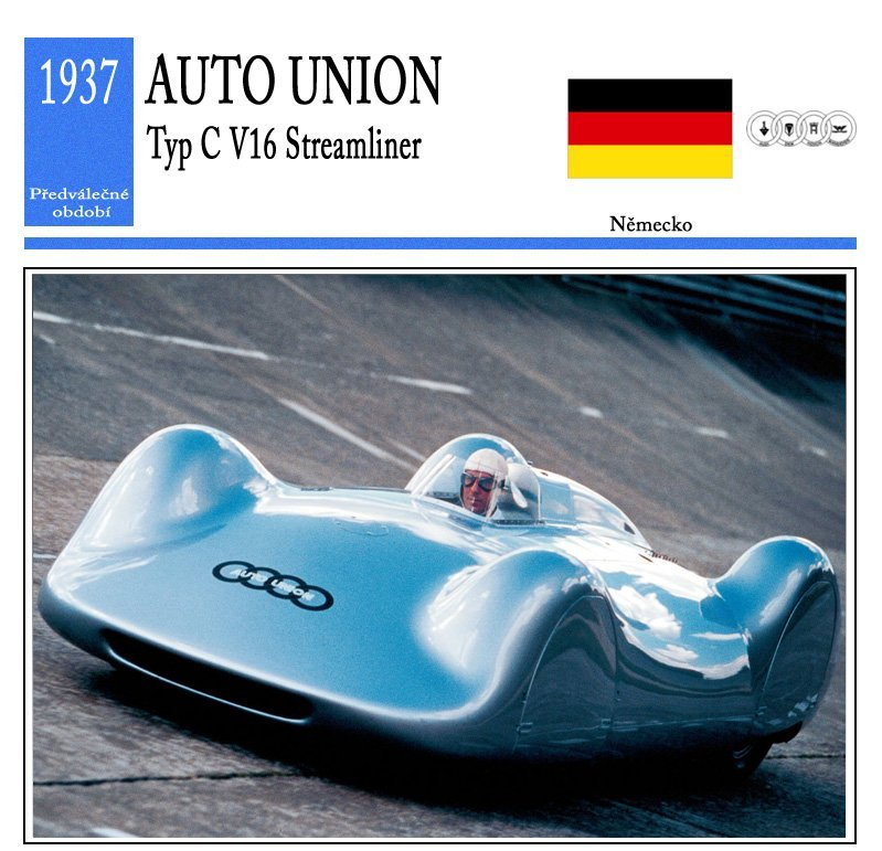 Auto Union Typ C V16 Streamliner