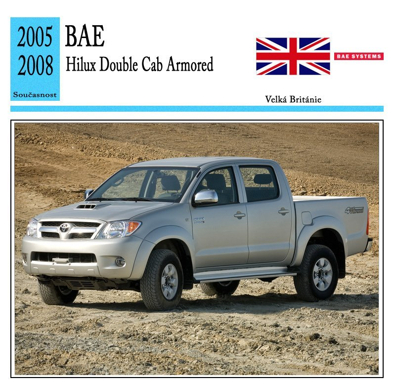 BAE Hilux Double Cab Armored
