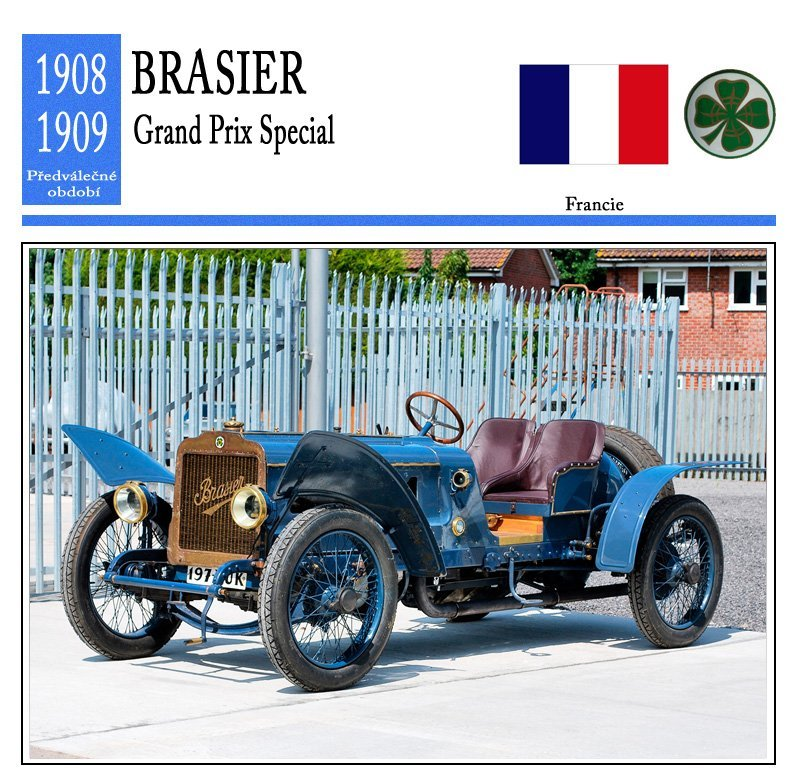 Brasier Grand Prix Special