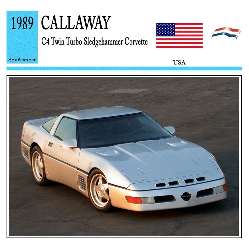 Callaway C4 Twin Turbo Sledgehammer Corvette