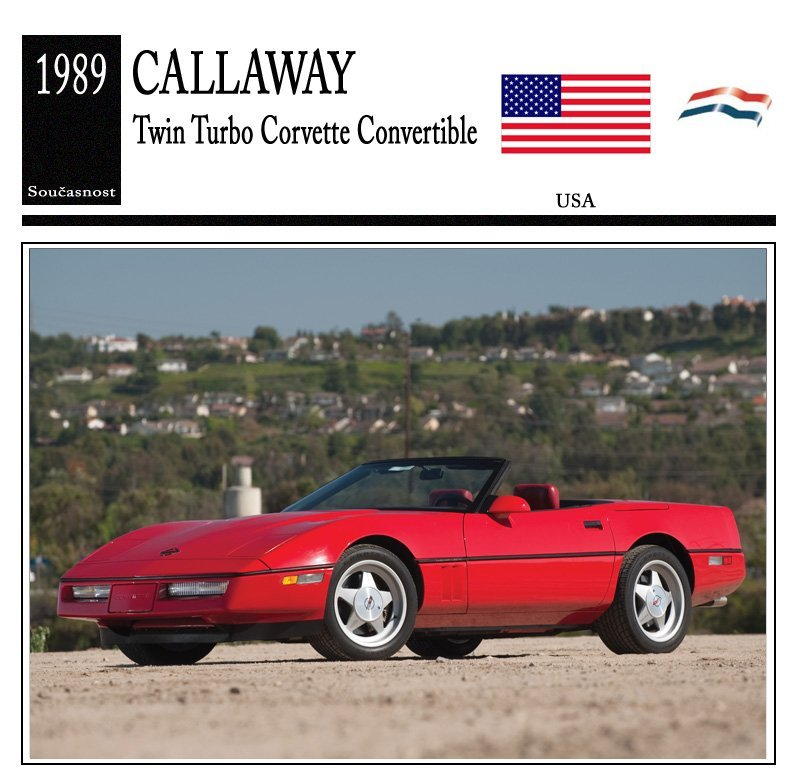 Callaway Twin Turbo Corvette Convertible